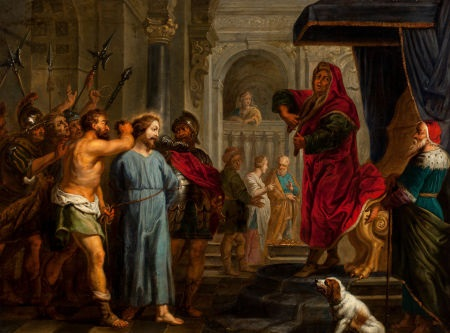 christ before the pilate by cornelis schut the elder