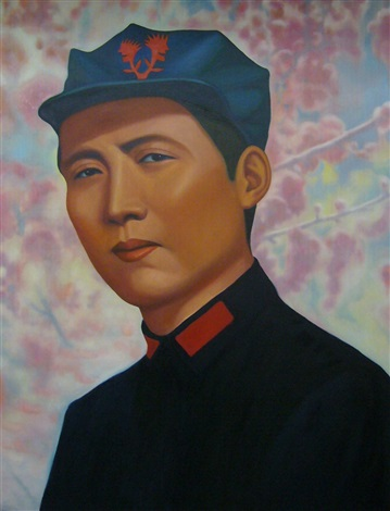 mao tse tung romance amidst plum flowers by ren rong