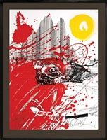 red shark (hunter s. thompson) by ralph idris steadman