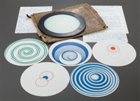 rotoreliefs (6 double-sided works) (12 works in total) by marcel duchamp