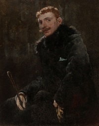 portrait of a gentleman by frederick porter vinton