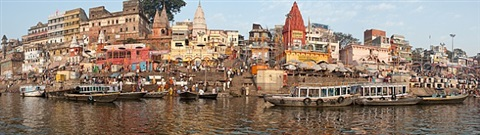ganges, varanasi, india by neil meyerhoff