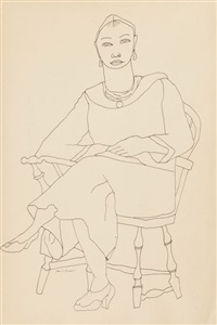 self portrait by louise nevelson