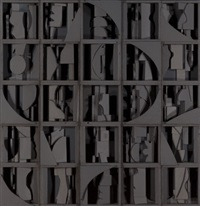 model for sky covenant by louise nevelson