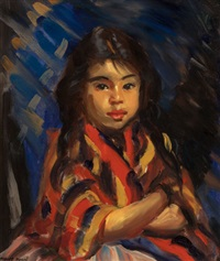 lucinda, mexican girl by robert henri