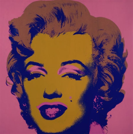 marilyn by andy warhol