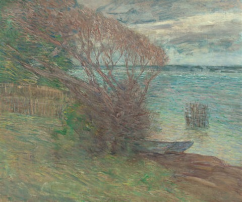 the beach nassau by julian alden weir