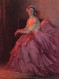 portrait of a lady by hugh henry breckenridge