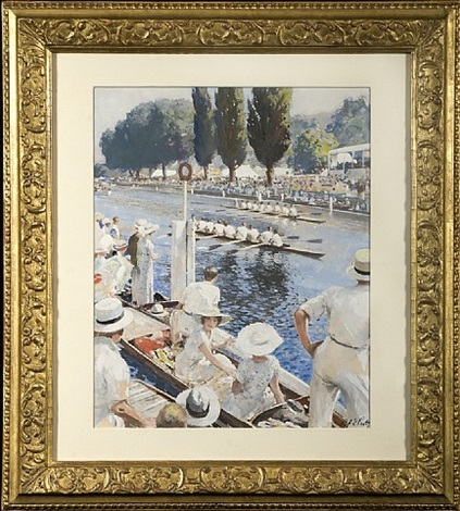 henley regatta by septimus e. scott