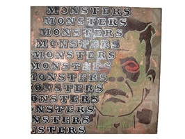 monsters by ben eine