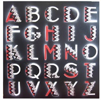 deco alphabet by ben eine