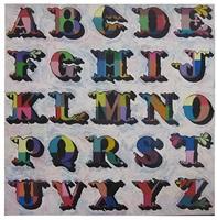 glitter alphabet by ben eine