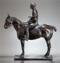 polo player on pony: skiddy von stade by charles cary rumsey