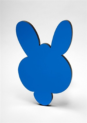 kangaroo mirror box (blue) by jeff koons