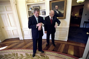 oval office, january 26, 2001 by eric draper