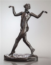 dancing female nude by charles cary rumsey