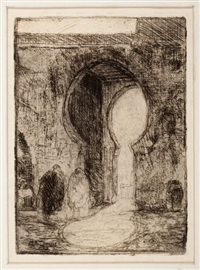 gate of tangiers by henry ossawa tanner