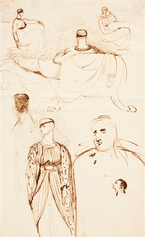 figure studies by benjamin robert haydon