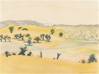 noon in september by charles ephraim burchfield