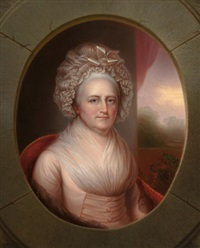 martha washington by rembrandt peale