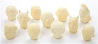 cast head (in 11 parts) by dan webb