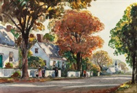 walking home from church, rockport by anthony thieme