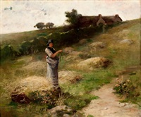 the hay gatherer by charles john arter