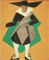 costume design for cervantes' entremeses by alexandra exter