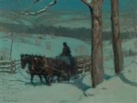 new england winter by victor coleman anderson