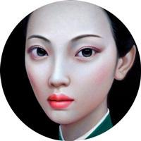 beijing girl series no. 10 by zhang xiangming
