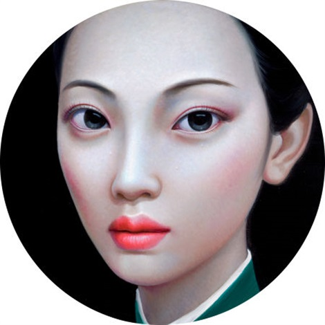 beijing girl series no 10 by zhang xiangming