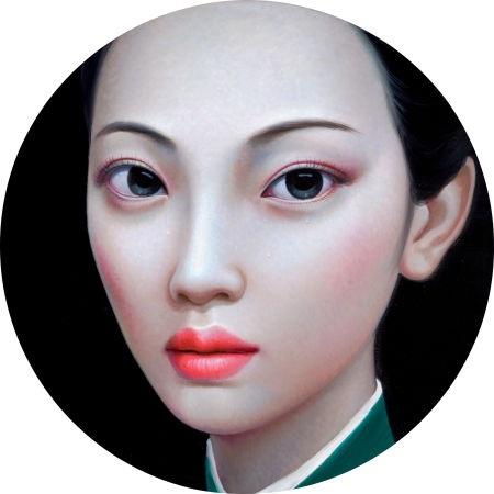 beijing girl series no 10 by zhang xiangming
