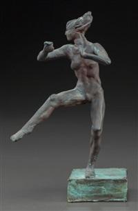 small dancing nude by robert graham