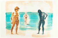 untitled (beach) by eric fischl
