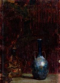 blue bottle by hovsep pushman