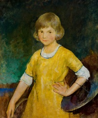portrait of joan becker by charles webster hawthorne