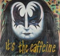 it's the caffeine (in 7 parts) by ron english