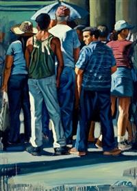 street scene by lester corso