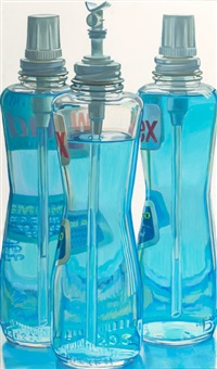 windex bottles by janet fish