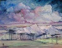 talloires (study) by leon dabo