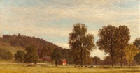 saw mill valley, pennsylvania by samuel colman