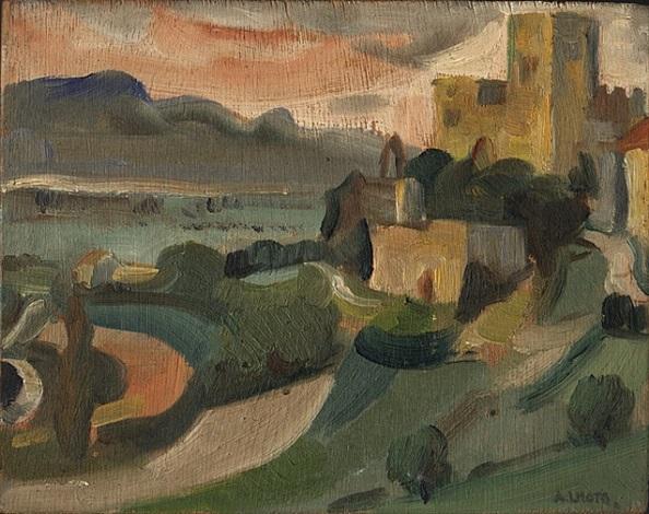 petit paysage by andré lhote