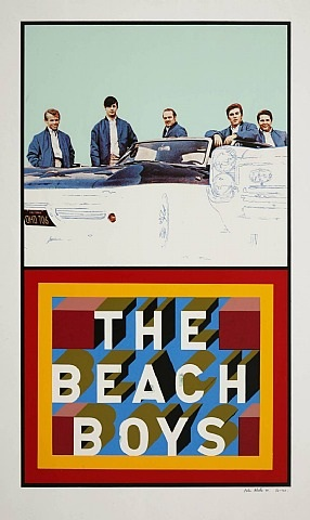 beach boys by peter blake