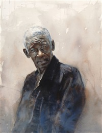 final study for mr. buck's funeral by stephen scott young