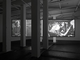 exhibition view by douglas gordon