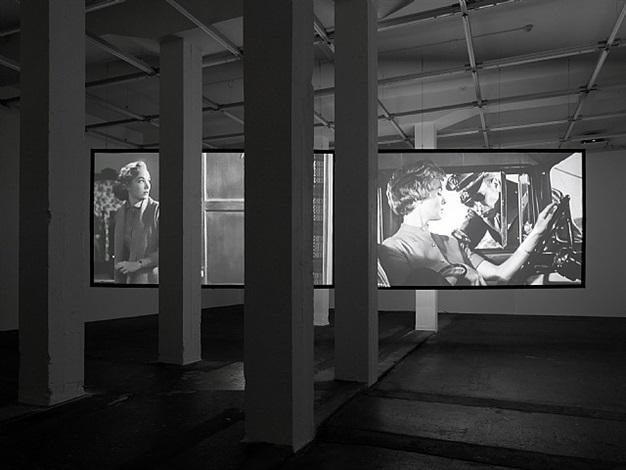 exhibition view by douglas gordon