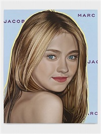 dakota fanning by richard phillips