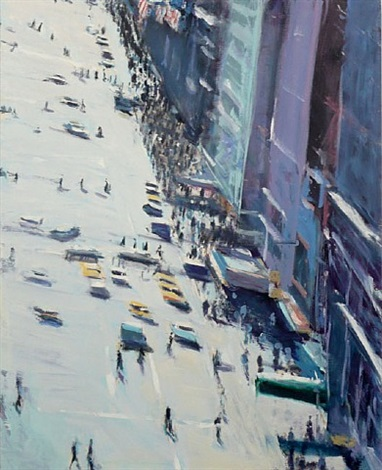 broadway from the clock tower by david kapp