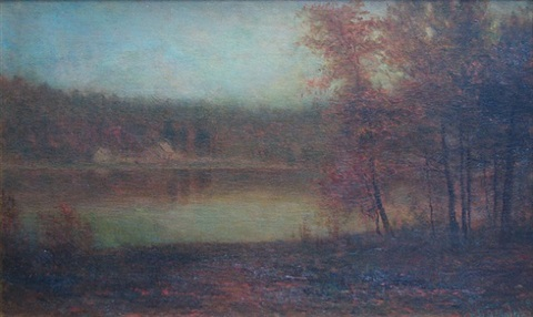 stony pond, adirondacks by homer dodge martin