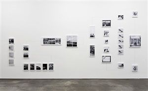 assembly instructions (concerning the apparent asymmetry of time: painting), installation view sprüth magers berlin, 2011